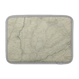 河川の地図 MacBook スリーブ