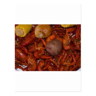 沸かされたcrawfish ポストカード