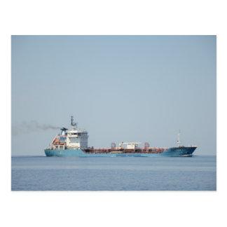 油および化学薬品のタンカーレオン ポストカード