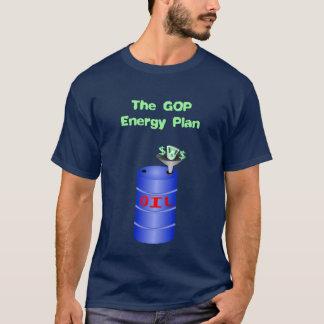 油のためのGOP愛 Tシャツ