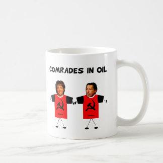 油のマグの僚友 コーヒーマグカップ