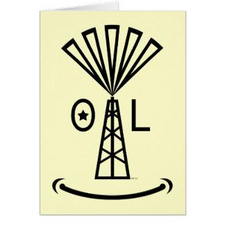 油は私を微笑させます カード