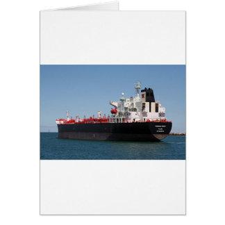 油または化学薬品のタンカー船1 カード