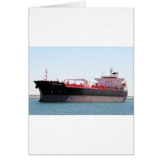 油または化学薬品のタンカー船2 カード