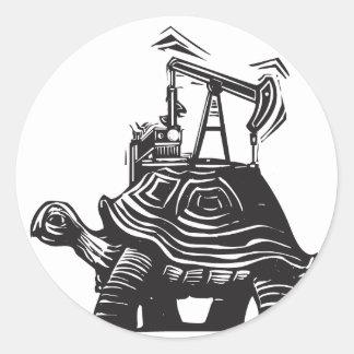 油井のカメ ラウンドシール