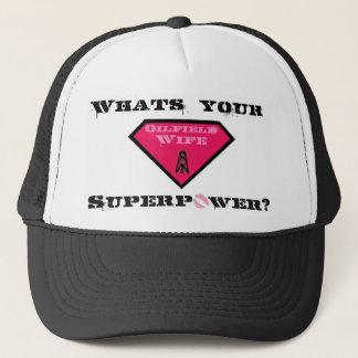 油田の妻のトラック運転手の帽子 キャップ