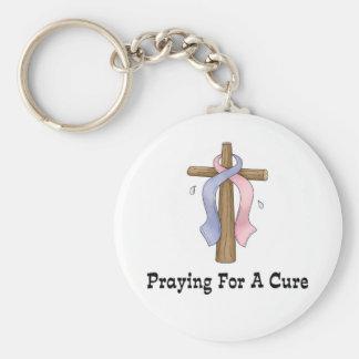 治療のために祈ること キーホルダー