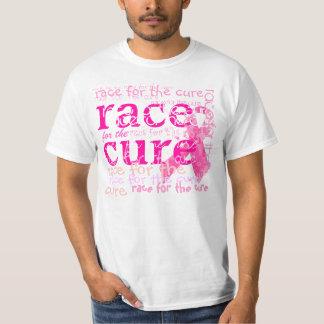 治療のためのPixDezinesの競争、ピンクのリボン Tシャツ