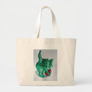 治療のドラゴン ラージトートバッグ