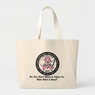治療のハンドバッグのための2007人の花型女性歌手 ラージトートバッグ