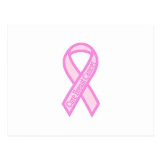 治療の乳癌 ポストカード