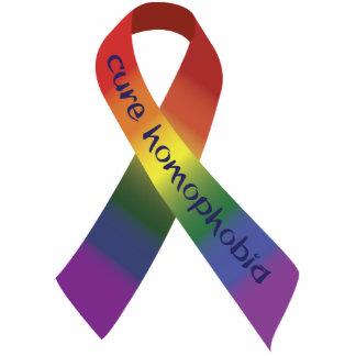 治療の同性愛恐怖症 写真彫刻オーナメント