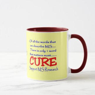 治療の多発性硬化の~サポートMSの研究 マグカップ