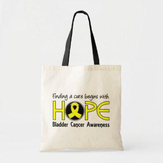 治療は希望5の膀胱癌から始まります トートバッグ