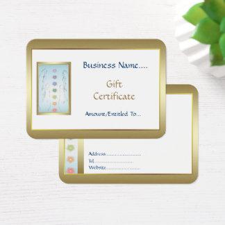 治療手のホリスティックなギフトのカード設計 名刺