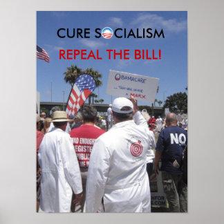 治療社会主義の廃止ビル   … ポスター