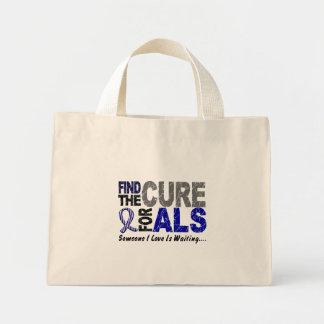 治療1 ALSを見つけて下さい ミニトートバッグ