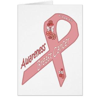 治療-乳癌の認識度--を見つけて下さい カード