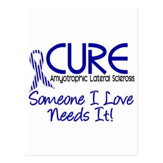 治療ALS 2 ポストカード