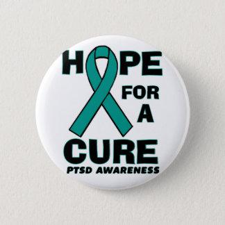 治療PTSDのための希望 缶バッジ