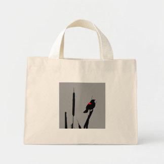 沼地のバッグのクロドリ ミニトートバッグ