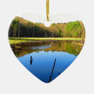 沼地の水路 セラミックオーナメント