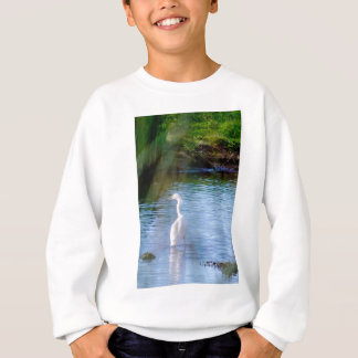 沼地の素晴らしい白鷺 スウェットシャツ
