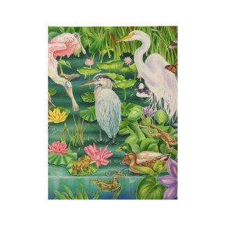 沼地の驚異 ウッドポスター