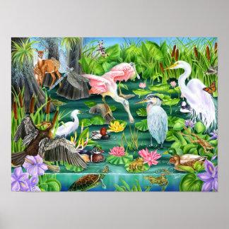 沼地の驚異 ポスター