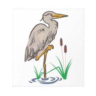 沼地の鷲 ノートパッド