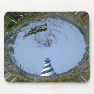沼地シリーズからのハッテラス岬の灯台 マウスパッド