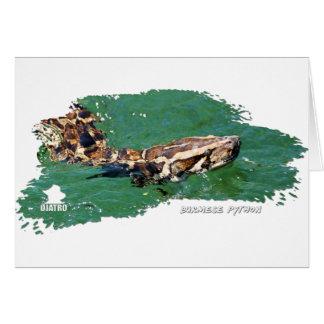 沼沢地の大蛇01 カード
