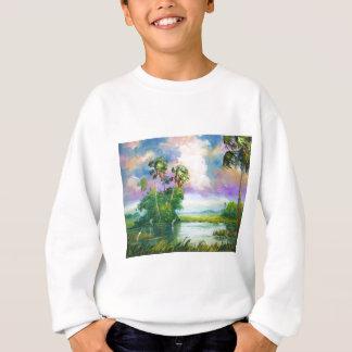 沼沢地の風 スウェットシャツ