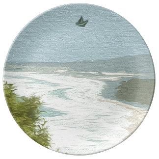 沿岸オーストラリア 磁器プレート