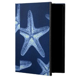 沿岸シックなビーチの素朴で航海ので青いヒトデ iPad AIRケース
