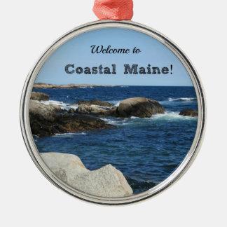 沿岸メインへようこそ! メタルオーナメント
