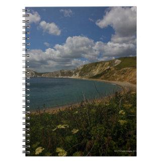 沿岸崖および景色 ノートブック