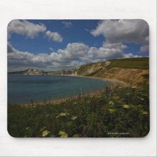 沿岸崖および景色 マウスパッド