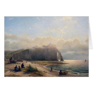 沿岸眺め-ウィレムAnthonie van Deventer カード
