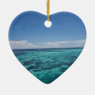 沿岸礁、フィージー セラミックオーナメント
