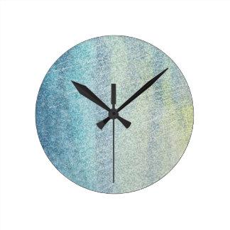沿岸色の抽象芸術 ラウンド壁時計