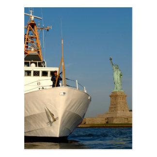 沿岸警備隊および自由の彫像 ポストカード