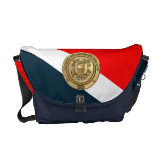 沿岸警備隊のカムフラージュ メッセンジャーバッグ