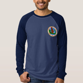 沿岸警備隊の空中撮影点のケープコッド Tシャツ