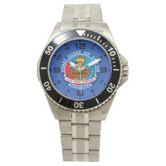 沿岸警備隊の空中撮影点Borinquenプエルトリコ 腕時計