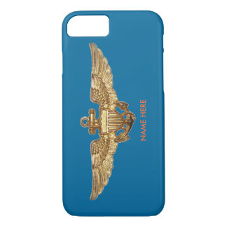 沿岸警備隊の飛行士のカスタムなiPhone 7の場合 iPhone 8/7ケース
