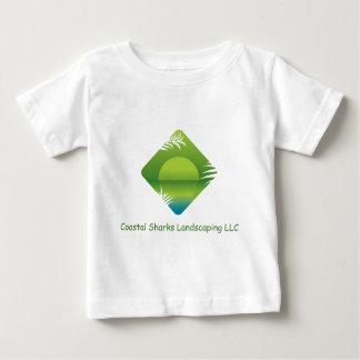 沿岸鮫の美化 ベビーTシャツ