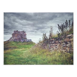 沿岸Lindisfarne フォトプリント
