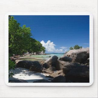 沿岸Naturescapeのビーチの休暇 マウスパッド