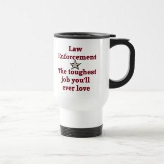 法の執行のマグ トラベルマグ